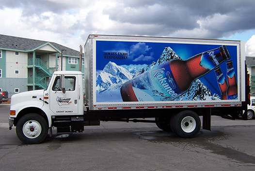 Composite sidewalls provide a smooth surface to display company logos and graphics.