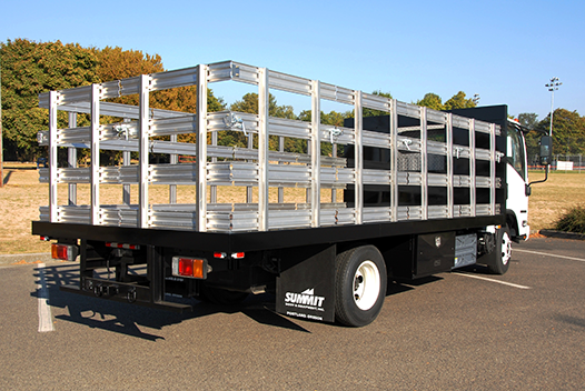 Summit Flatbed lengths range from 8 to 28 feet.