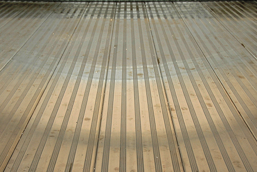 Floor Option Non-skid Aluminum